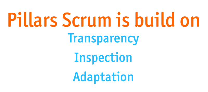 pillars-of-scrum